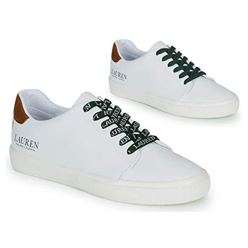 Ralph Lauren - Schuhe Frau Modell Joana weiß mit Logo RL 802782150001 - Weiß, 39 EU RL