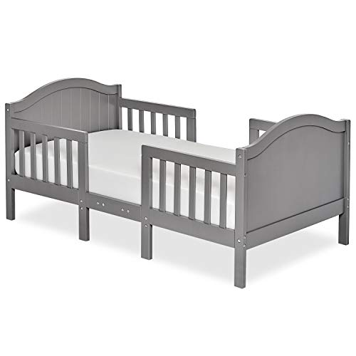 Dream On Me, Portland 3-in-1 Convertible Toddler Bed, Steel Grey