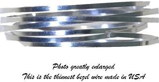 Bezel Wire Cloisonne Strip .999 Fine Silver Flat .040