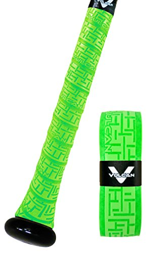 Vulcan Bat Grip, Vulcan 1.75mm Bat Grip, Optic Green