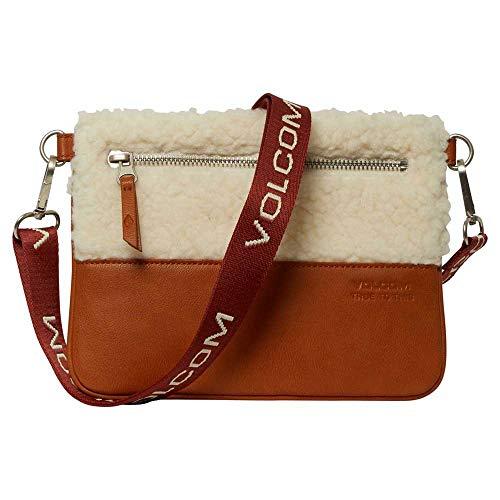 Volcom Women's Ecovol Crossbag Shoulder Bag, Sand, O/S