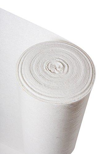Standard bianco Fleece Liner–temporaneo pavimenti duri roll