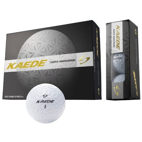 Buy KAEDE golf ball 1 dozen white