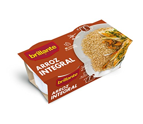 Brillante Arroz Integral  125G X 2 - [Pack De 8] - Total 2 Kg
