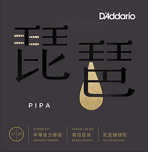 【2セット】D'Addario ダダリオ PIPA01 琵琶 弦