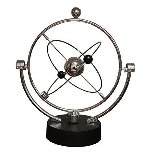 Prettygood7 Schreibtisch-Spielzeug, kinetisches Orbital, in ewiger Bewegung, Schreibtischkunst, Spielzeug, Büro-Dekoration