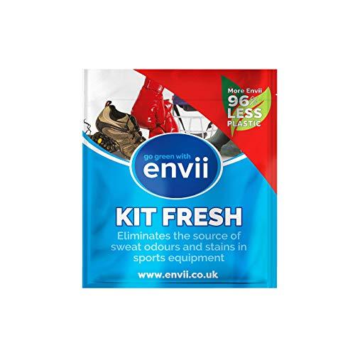 envii Kit Fresh - Desodorante para Eliminar olores probióticos para Equipos Deportivos - Desodorante de Zapatos en Spray y ambientador (Rellenar)