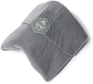 Trtl Pillow - Scientifically Proven Super Soft Neck Support Travel Pillow – Machine Washable (Grey)