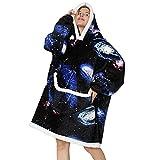 JOREAY Übergroße Decke Hoodie Sweatshirt für Erwachsene, Männer, Frauen, Jugendliche, Super Weiche Gemütliche Warme Komfortable Sherpa Riesen-Hoodie, Geeignet Kapuzenpullover