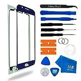 MMOBIEL Kit de Reemplazo de Pantalla Táctil Compatible con Samsung Galaxy S6 G920 Series (Blue) Incluye Pantalla de Vidrio/Cinta Adhesiva/Kit de Herramientas/Limpiador de Microfibra/Alambre Metálico