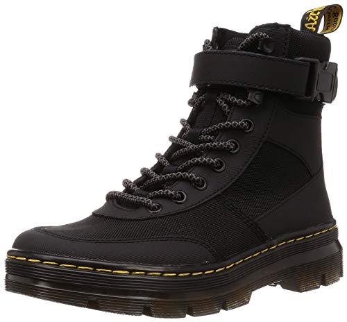 Dr. Martens Women's Combs Tech Fashion Boot, Black Extra Tough 50/50 & Black Ajax, 6 5 Men
