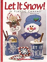 Let It Snow! in Plastic Canvas