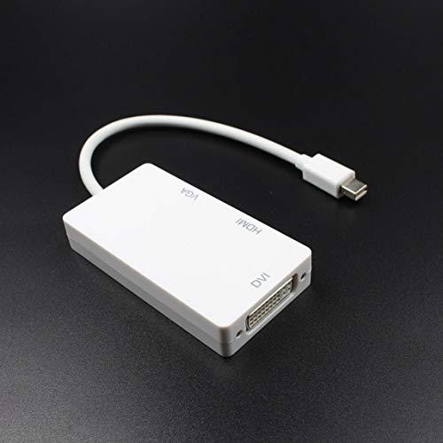 WDMY Mini Dp Displaypor Thunderbolt Mini Displayport Dp to Vga+Hdmi+Dvi 4K Dvi Vga Dp Adapter Cable for Apple