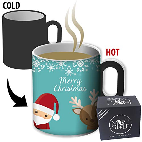 My Custom Style Tazza Magica termosensibile#Natale-MerryChristmas5#325ml