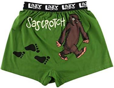 Lazy One Funny Animal Boxers Novelty Boxer Shorts Humorous Underwear Gag Gifts for Men Sasquatch product image