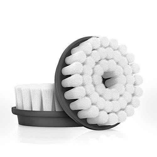 Proactiv Cabeças de escova de limpeza facial, 2 escovas de substituição – escova esfoliante facial para pele propensa a acne – resistente à água com cerdas macias e afuniladas