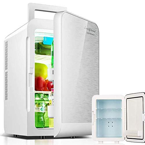 QMYYHZX Mini Nevera Portátil De 20L, Refrigerador Pequeño De 220 V CA 12 V CC, para Refrigerador Pequeño para Automóvil, Oficina En Casa, Refrigerador