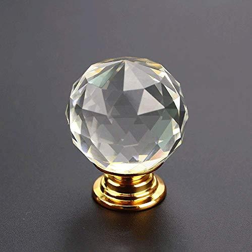 Handvat van de deur 10 stuks Crystal Glass Kastknoppen Vorm van de Diamant Drawer keukenkastjes buffetkast Wardrobe Pulls Handles Multipurpose Gemakkelijk Geschikt for woonhuis te installeren, kantoor