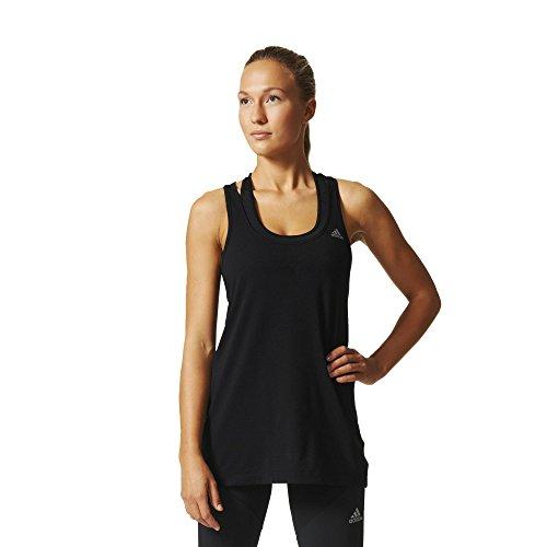 adidas Prime DD Camiseta, Mujer, Negro-(Negro), 2XS
