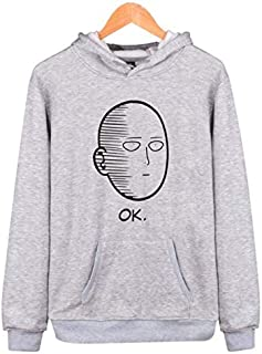 Comics ONE PUNCH-MAN sweatershirt Saitama teacher round neck hooded sweatershirt for Men