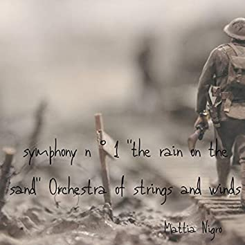 """Symphony No. 1 """"The Rain on the Sand Orchestra of Strings and Winds"""""""