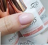 Indigo Gel-Nagellack, Mineralbasis, 7 ml, Blush