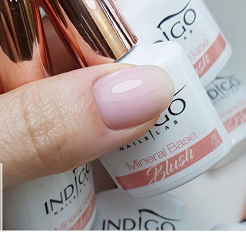 New Indigo mineral base gel polish manicure nails art 7ml BLUSH