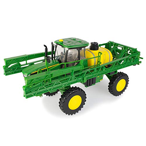 TOMY John Deere Big Farm Lights & Sounds JD R4023 Sprayer, Green, Yellow (1:16 Scale)