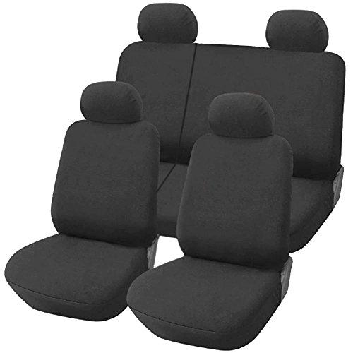 Lupex Shop FIAT Grande Punto 5 Türen Sitzbezüge - dunkelgrau