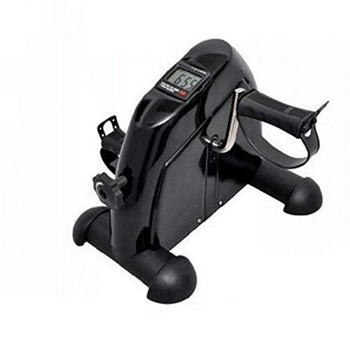 Mini Bicicleta estática para Interiores, ejercitador de extremidades Superiores e Inferiores, Dispositivo de Entrenamiento de rehabilitación de piernas para Bicicleta