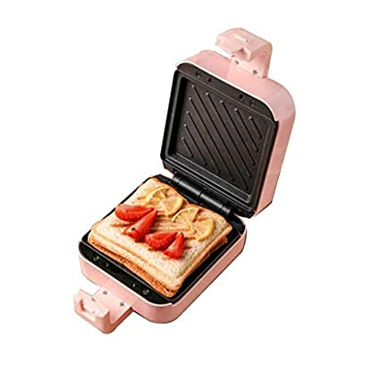 Sandwich-Toaster-Sandwich-Toaster-Electric-Waffle-Maker-5-in-1-Schnellfruehstueck-Multifunktionale-Eisenmaschine-abnehmbare-Antihaftplatten-Premium-Backform-fuer-Waffeln-Donuts-Sandwich-Steak-Panin
