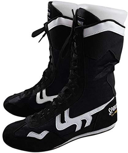 Sport Pioneer Herren high top boxen schuhe boxer stiefel 6.5 uk schwarz