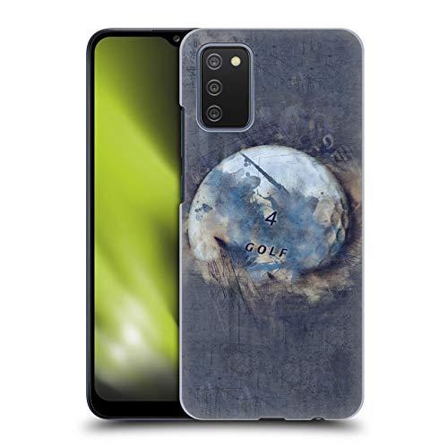 Head Case Designs sous Licence Officielle Simone Gatterwe Boule De Grunge Planètes Coque Dure pour l'arrière Compatible avec Samsung Galaxy A02s (2021)