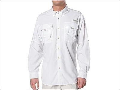 Columbia Bahama II Long Sleeve Shirt (White) Men