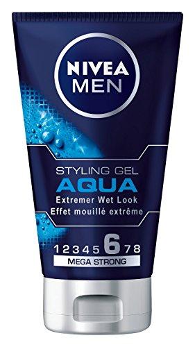 Nivea Men, Gel per capelli Aqua Styling, effetto bagnato, 150 ml