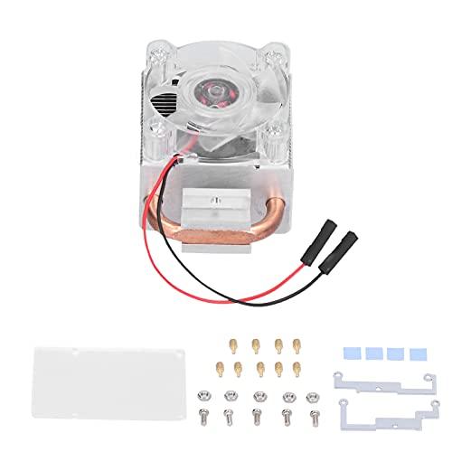 WAQU Caja Ventilador-CPU Ventilador de refrigeración Caja de la computadora RGB Cool Ice Tower Cooler 0.4W DC 5V para Raspberry Pi