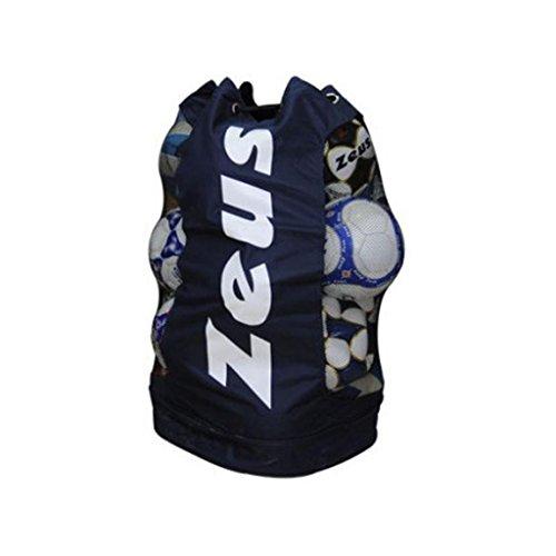 Zeus Borsa Portapalloni Bolsa Para Balones Saco De Balones Futsal Futbol Basket Volley 78 x 45 cm 70% Nylon 30% Poliester Pegashop