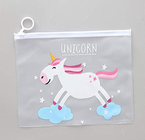 Best kwaliteit - opbergzakken - opbergtas cute potlood boxen make-up tas make-up tas tas dames organizer toiletopslag - by Stephanie - 1 pc Unicorn cloud