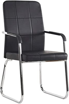 XLHJFDI Office Chairs Office Chair, Staff Conference Chair Student Dormitory Bow Mesh Chair Mahjong Chair Special Computer Chair Home Chair, Black (Color : B)