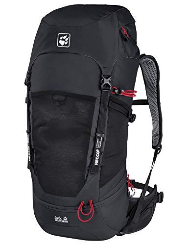 Jack Wolfskin KALARI Trail 36 Pack RECCO, Zaino Unisex-Adulto, Nero, Taglia unica