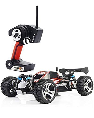 SIMREX A321 RC CAR High Speed 32 32Km/h +4x4 Fast Race Cars 1:18 RC Scale RTR Racing 4WD Electric Power Buggy W/2.4G Radio Remote Control Off Road Truck Powersport Roadster Red