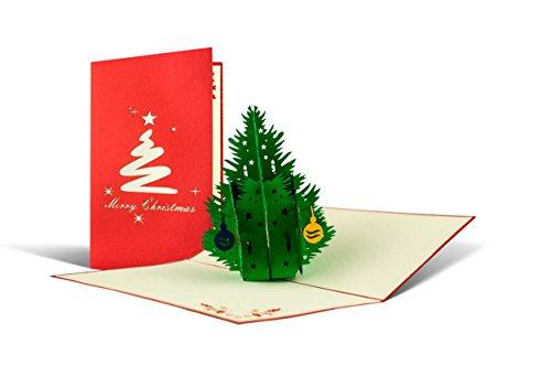 Weihnachtskarten 3er Set mit Umschlag, Grußkarten Weihnachten, Geschenkkarte, Geldgeschenk, Klappkarten, hochwertig, edel, handgefertigt, Set6