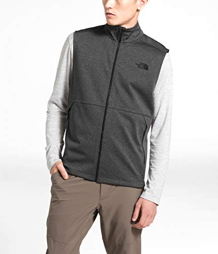 The North Face Men's Apex Canyonwall Vest, TNF Dark Grey Heather, 1X