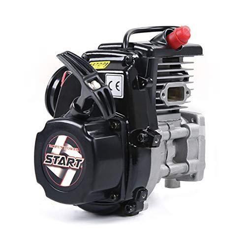 DAN DISCOUNTS Motor Bausatz, 45cc Benzin-Verbrennungsmotor Modellbau, Zweitaktmotor Bausatz Einzylinder Engine Kit Motor Modell Set für Rovan HPI, KM, Baja, 1/5 RC Benzin Modellauto