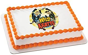 Whimsical Practicality Wild Kratts Edible Icing Image for 1/4 Sized Sheet Cake