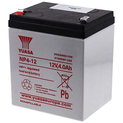 avis test tondeuse autoportée professionnel Yuasa – Batterie plomb-acide Yuasa 12V 4Ah NP4-12 – NP4-12