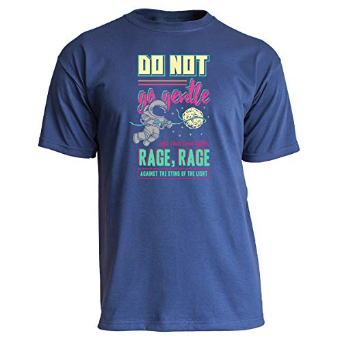 Nukular T-Shirt Rage Against The Dying of The Light, Farbe Navy, Größe XL