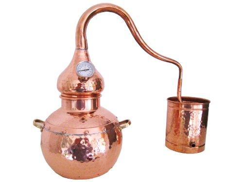 Destille Alambic Classico aus Kupfer 2L mit Thermometer (anmeldefrei)
