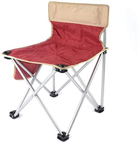 WJXBoos Silla Plegable para Acampar al Aire Libre, Asiento de Estadio portátil Acolchado y Ligero Ideal para Caminar, Picnic con portavasos y Bolsa de Transporte (Color: Verde Caqui)