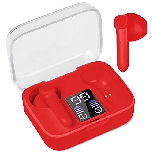 Ceestyle Cuffie Bluetooth 5.0, Senza Fili Auricolari Noise Cancelling Auricolari Wireless Stereo Bassi Profondi HIFI in-Ear Sportivi Earphones Impermeabile IPX5 Tocca Controllo con Mic per Smartphone